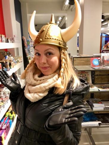 No shortage of Viking regalia here
