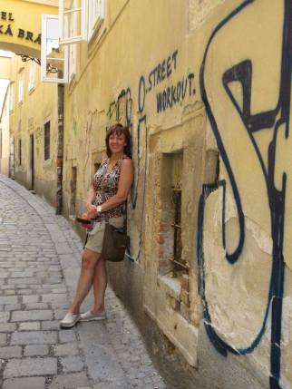 Our mom in Bratislava